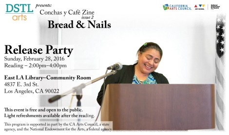 Bread and Nails-Flyer